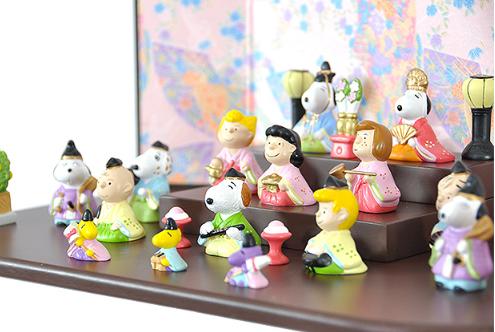雛人形 おしゃれ スヌーピー