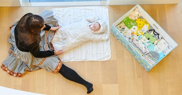 FINNISH BABY BOX 出産祝い
